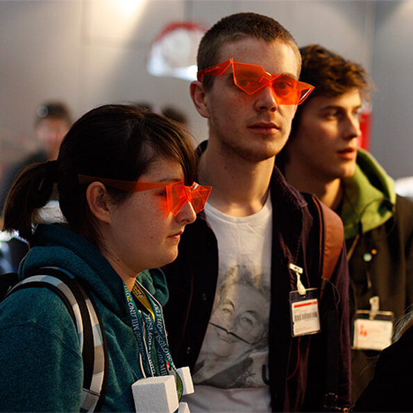 90 flyer 2012 TWIST glasses from the future Milan on Designboom foto © Ryan Salone Satellite 2012 ryan designboom