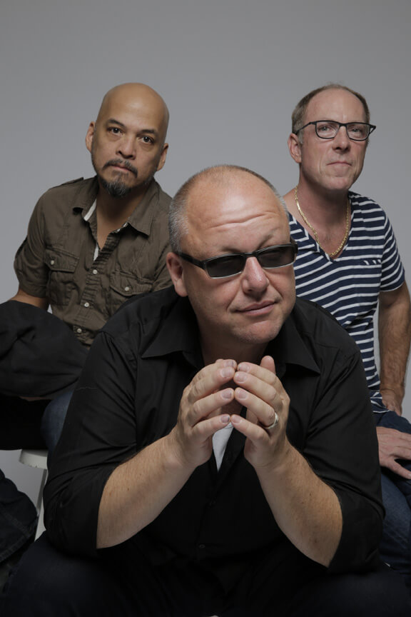 JAMES 5 drummer David Lovering 2014 the pixies