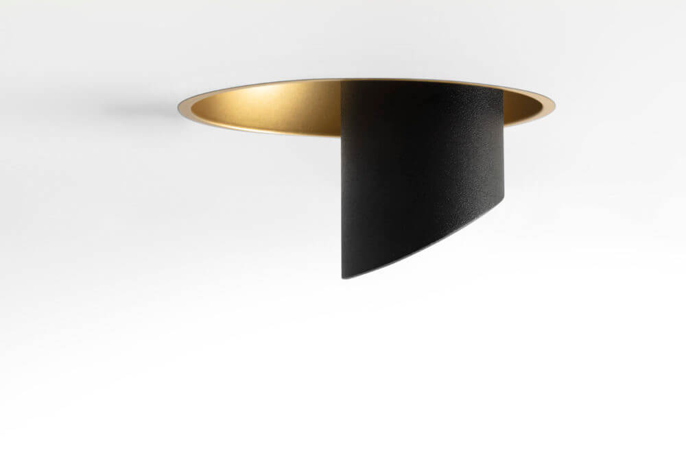 Hollow (trimless) gold_black_0676 2020 Modular Lighting Instruments