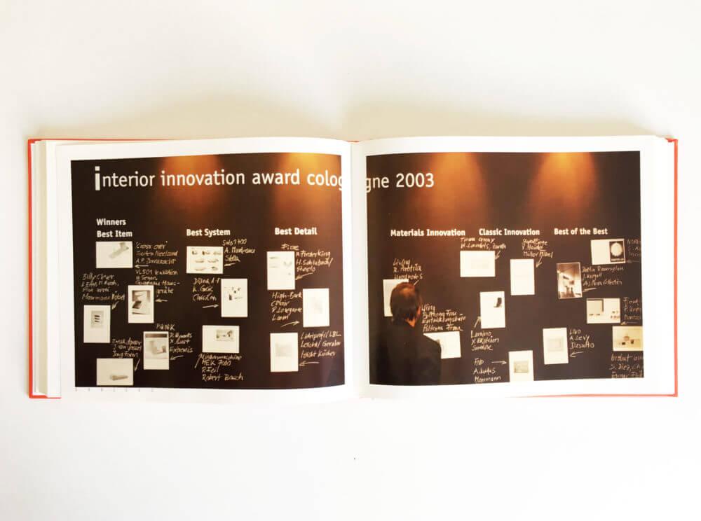 model 4 Imm Cologne award winners (DE) 2003 issentials03