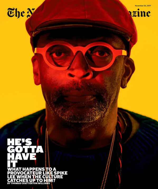 JAMES 16 New York magazine cover Spike Lee 2017 nytimes