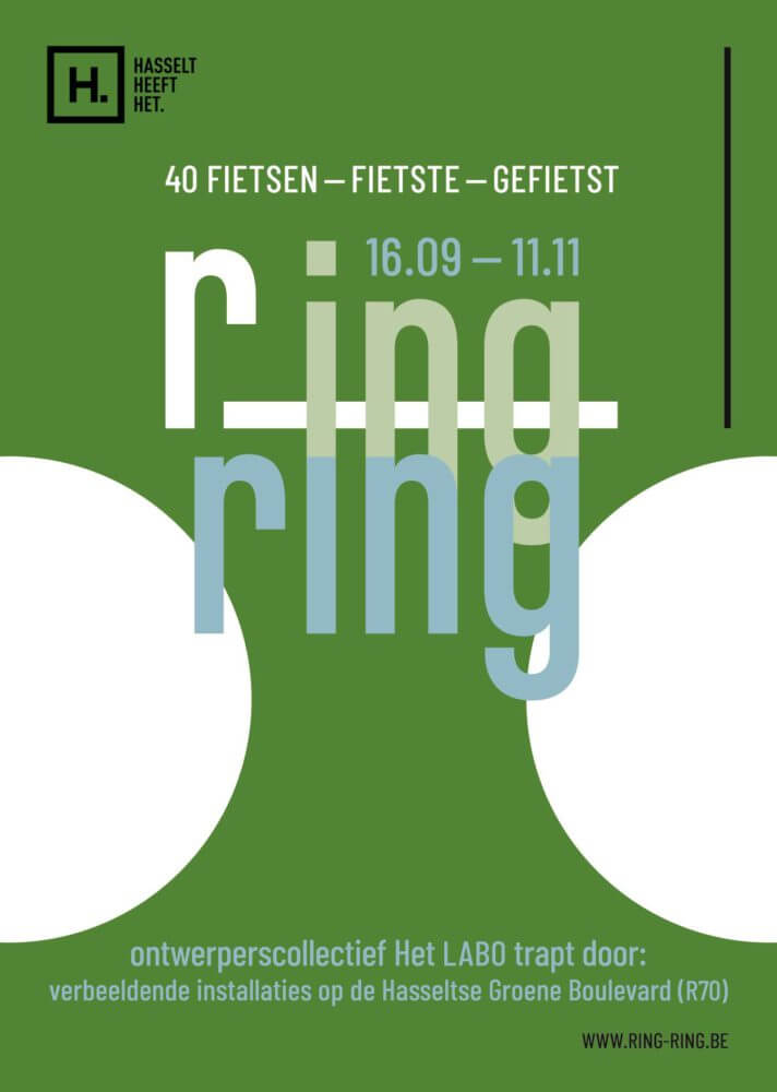 ring ring poster RING RING Hasselt (BE) 2018